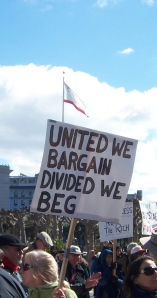 SF rally sign